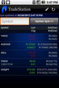 TradeStation Mobile App